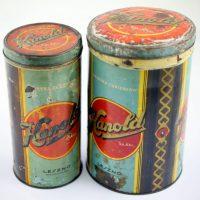 """Puszki po cukierkach """"Kanold"""" dostarczanych również dla armii"""