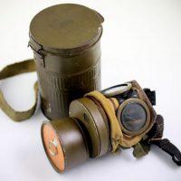 Maska RSC z puszką - sygnowana 1939r
