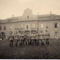 Jazda w Palacu Mieroszewskich 1920 r.