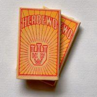 Przedwojenne bibułki do papierosów HERBEWO